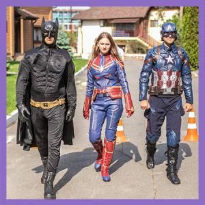Супергеройский праздник. Ване 6 лет