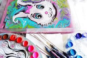 Мастер-класс «Рисунок на воде» или «Эбру»