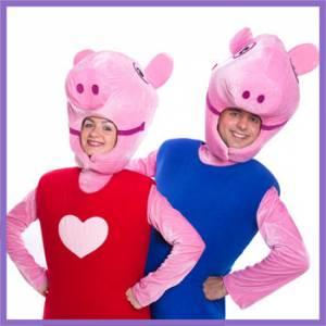 Аниматоры свинка Пеппа и Джордж